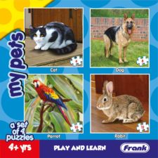 My Pets Animal - Set of 4 Puzzles