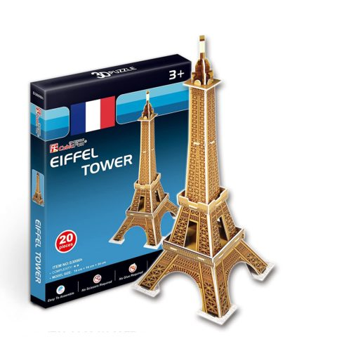 Eifell Tower Small 20 Pcs. Puzzle