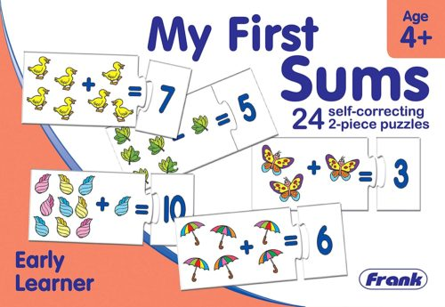 My First Sums - Early Learner 24 pcs. Puzzle