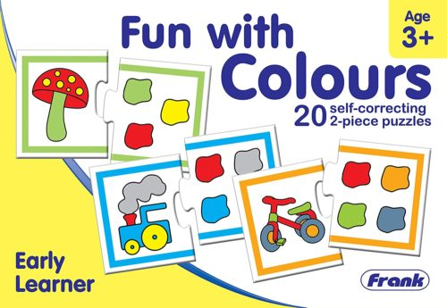 Fun With Colours 20 Pcs. Puzzle