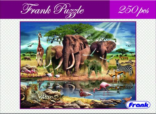 Animals in Africa 250 Pcs. Puzzle