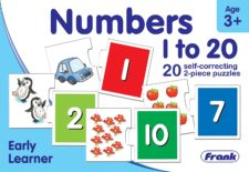 Number 1 to 20  20 Pcs Puzzle