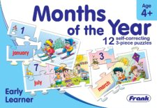 Month of The Year 12 Pcs. Puzzle