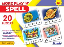 More Play 'N' Spell 20 Puzzles