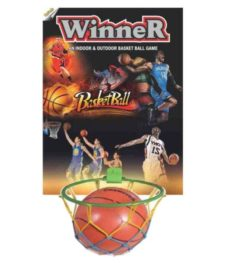 Winner Indoor & Outdoor Basket Ball Wooden Game No. 7