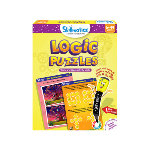 Skillmatics Logic Puzzles Activity Mats