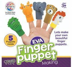 Eva Finger Puppet Making