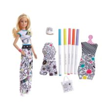Barbie Crayola Color-in Fashion