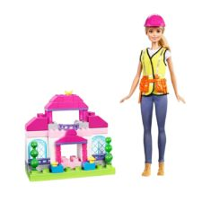 Barbie Builder Doll Playset