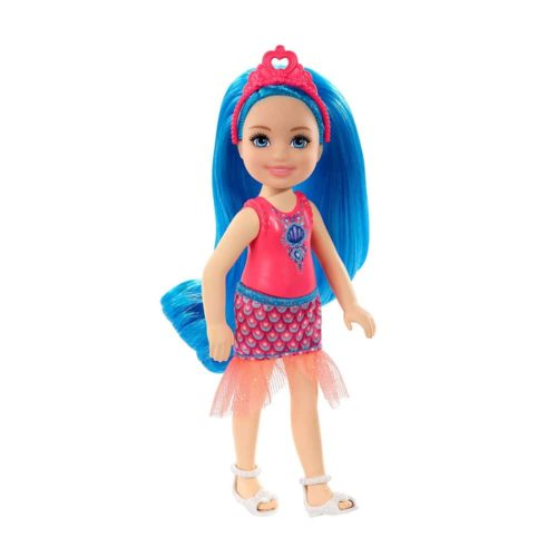 Barbie Dreamtopia Chelsea Sprite Doll 7-inch with Blue Hair