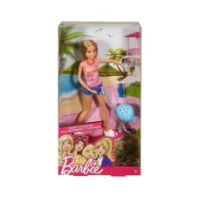 Barbie Ride On Scooter and Doll