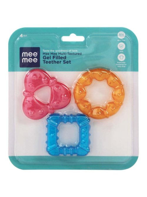 Mee Mee Multi Texured Gel Filled Teether Set