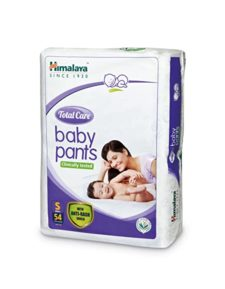 Himalaya Total Care Baby Pants  S (Pack of 9)