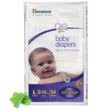 Himalaya Baby Diapers L (Pack of 54)