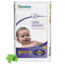 Himalaya Baby Diapers M (Pack of 54)
