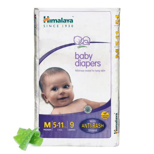 Himalaya Baby Diapers M (Pack of 9)