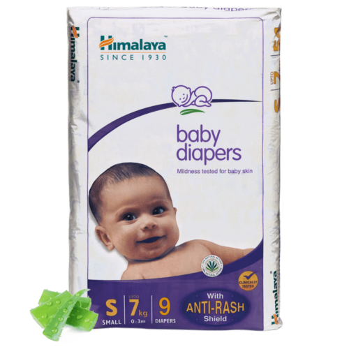 Himalaya Baby Diapers S (Pack of 9)