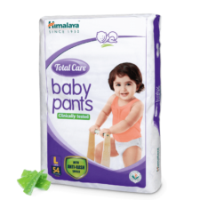 Himalaya Total Care Baby Pants  L (Pack of 54)