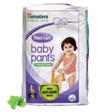 Himalaya Total Care Baby Pants  L (Pack of 9)