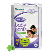 Himalaya Total Care Baby Pants  M (Pack of 9)