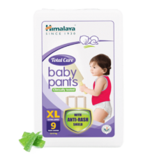 Himalaya Total Care Baby Pants  XL (Pack of 9)